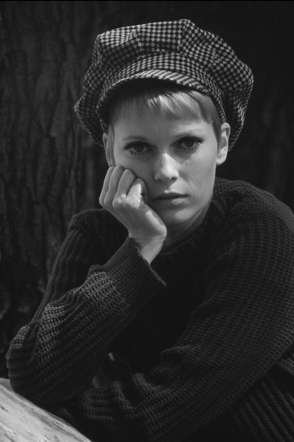 Mia Farrow by Terry O'Neill