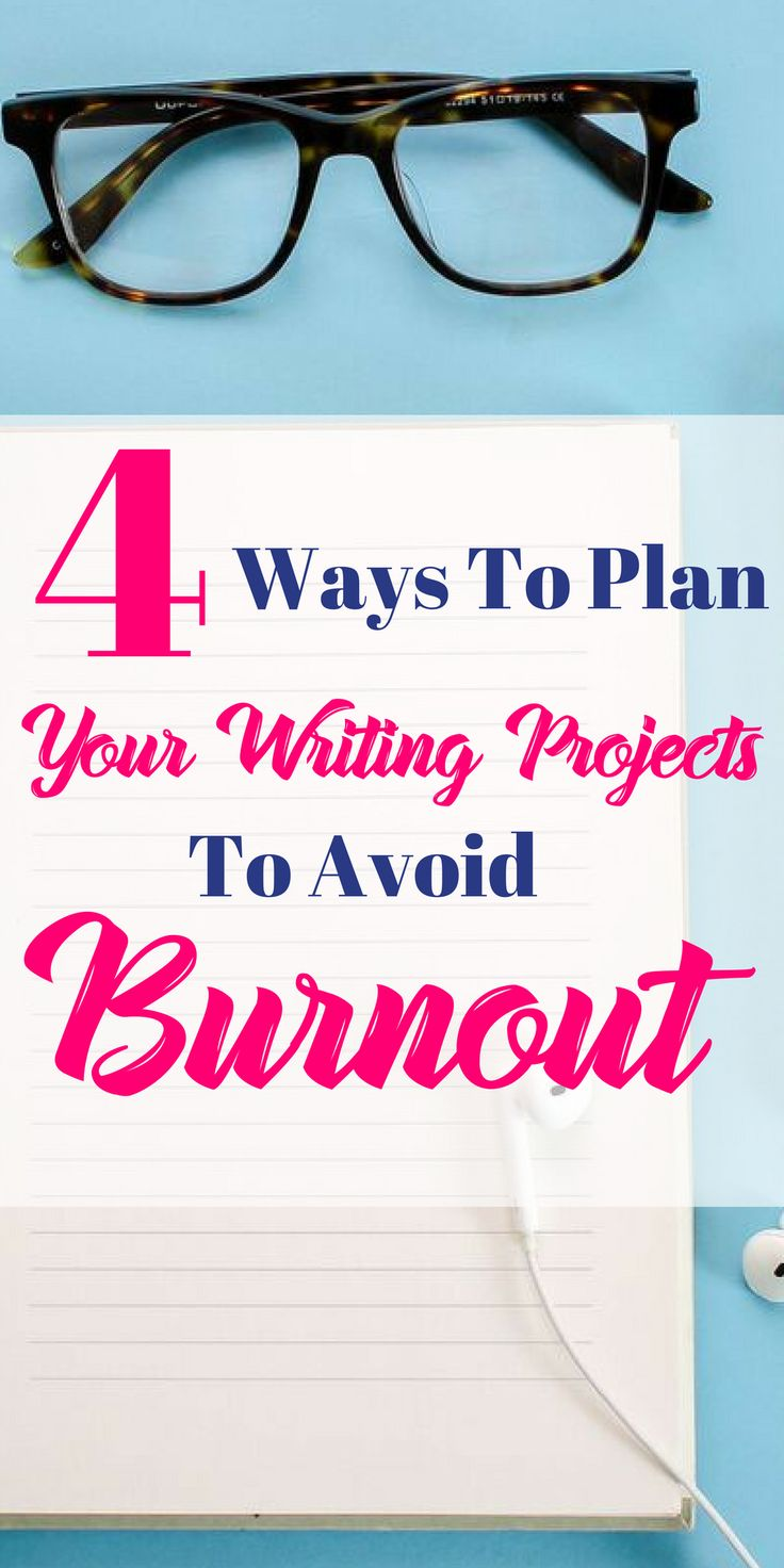 Looking to avoid burning out while growing your blog or writing business? Here are 4 ways that writers can avoid burnout.