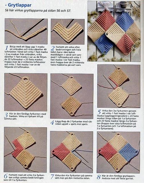 Crochet Stitch Tutorial