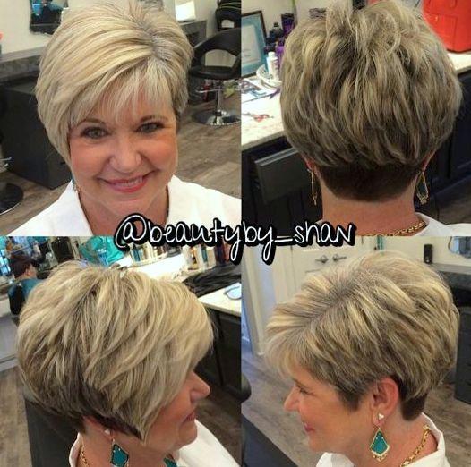 Einfach Kurze Frisuren für Ältere Frauen - Frisur Neue