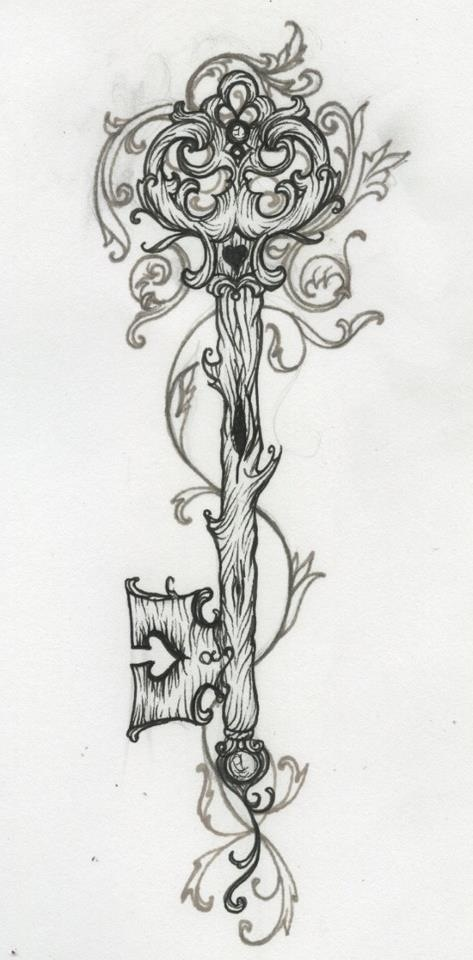 Tattoo design that could be modified for a SURVIVOR.