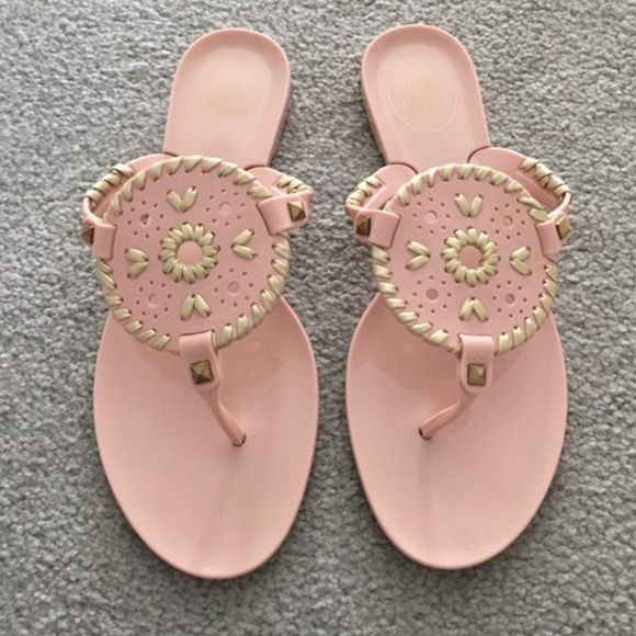 Jack Rogers Jellies Worn once! Jack Rogers Shoes Sandals
