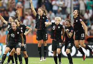 US Womens World Cup Soccer Team