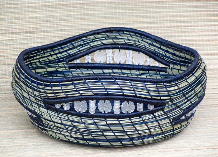 Gratiot Lake Basket Weaving Supplies : Best images about pine needle basket on
