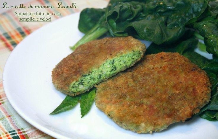Le spinacine fatte in casa sono davvero facili e veloci;molto più sane e gustose di quelle pronte. Preparate e mangiate o da congelare per le emergenze!