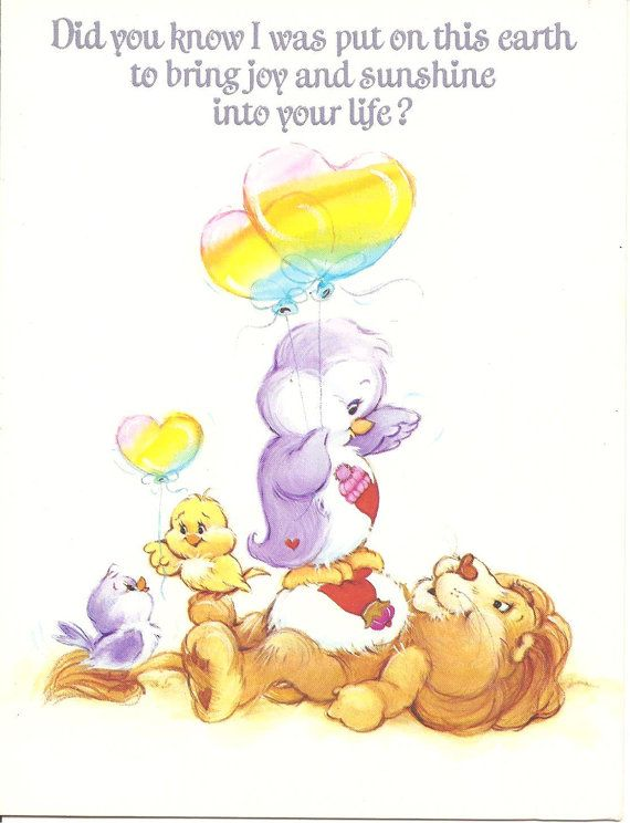 155 best Care Bears images – Care Bears Birthday Card