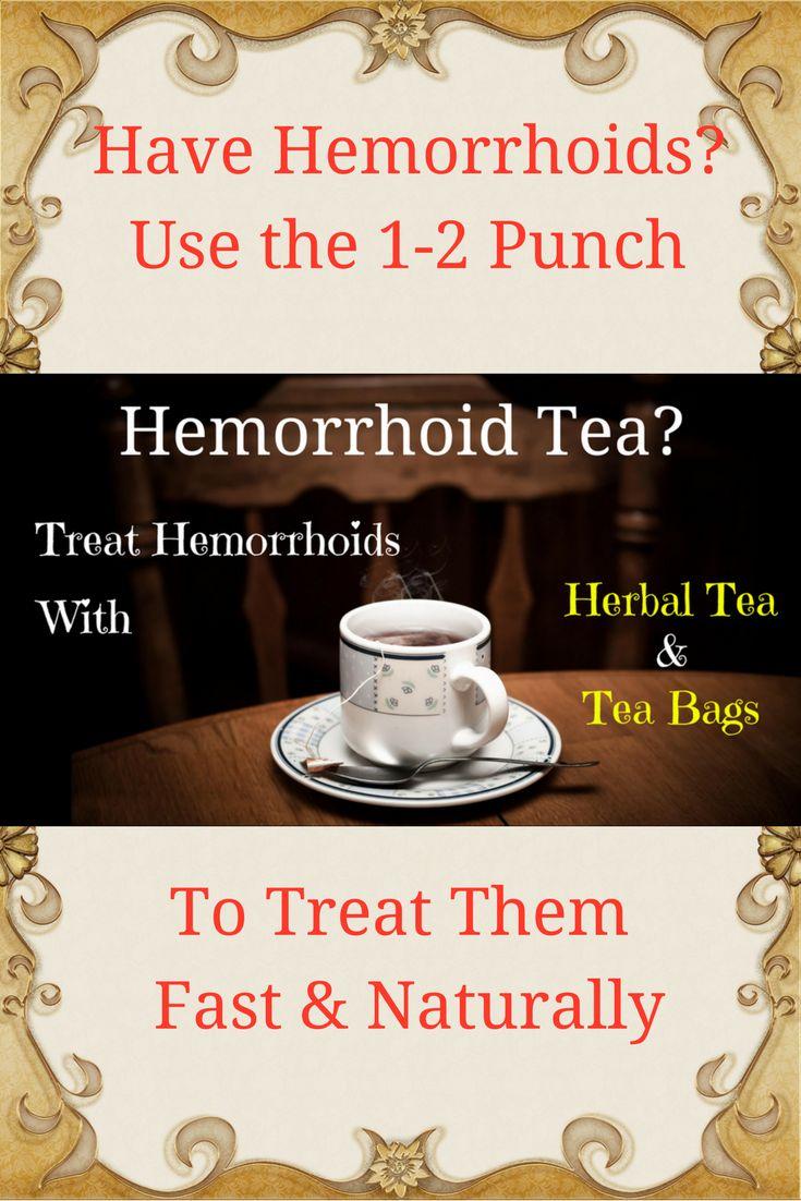 Use a powerful hemorrhoid tea treatment that works two ways. Fast hemorrhoid relief! #hemorrhoids #naturaltreatment #hemorrhoidtea #hemorrhoidrelief