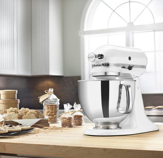 if youre wondering whether this all american kitchenaid artisan series stand mixer is - Kitchenaid Kuchenmaschine Artisan Weis 5ksm150psewh