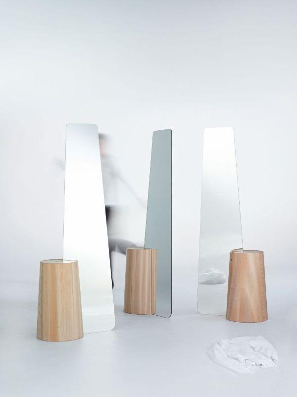Miroir haut Elisabeth pour Reflect+ - photo © Peter Verplancke #miroir #mirror #design #deco #decoration