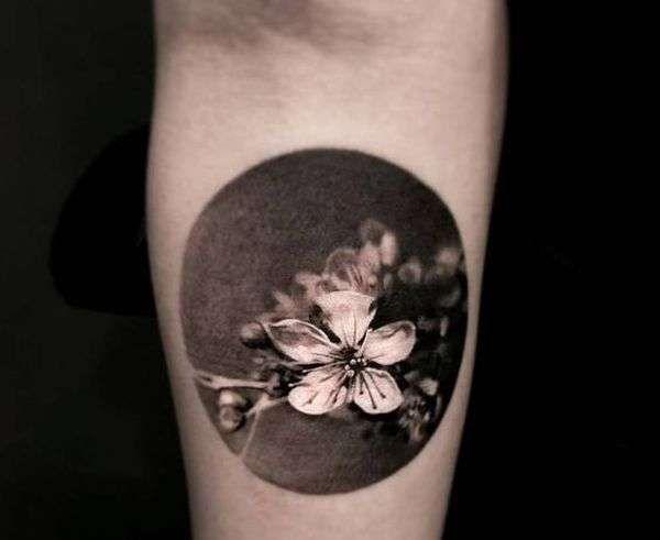 Tatouage De Fleur De Cerisier Japonais Club Tatouage Tatouage De Fleurs De Cerisier Fleur De Cerisier Japonais Tatouage Fleur De Cerisier