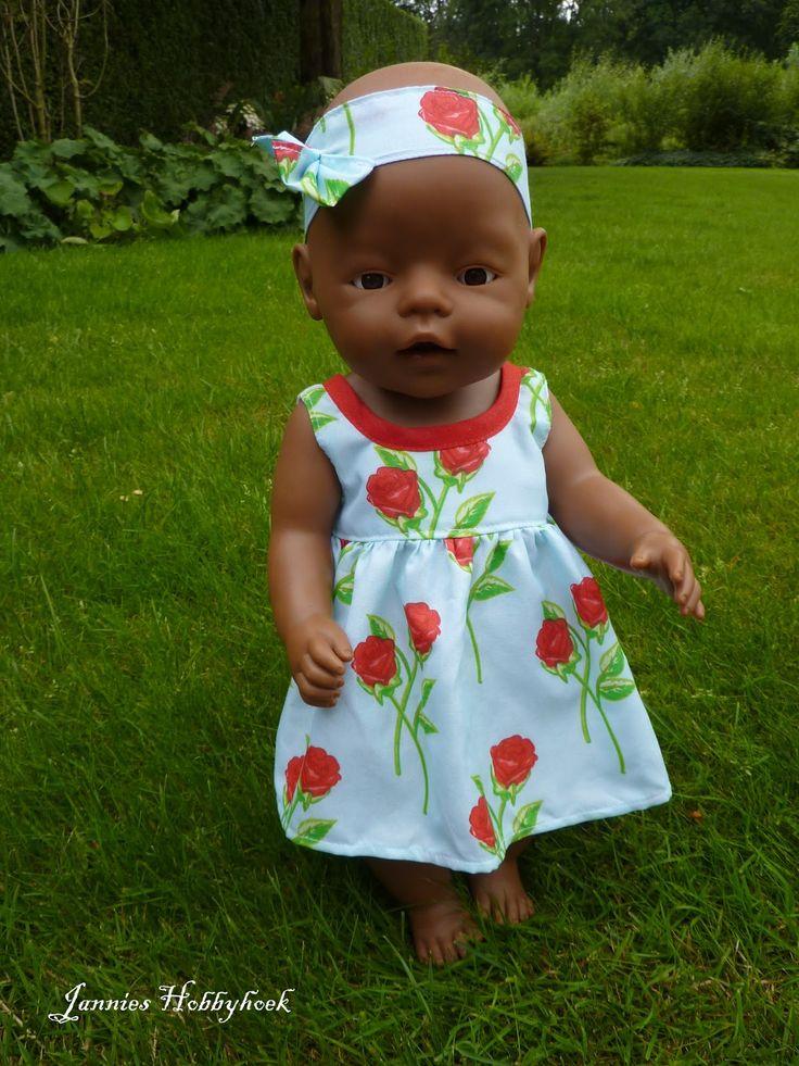 Zomerjurkje Babyborn 43cm Poppenkleertjes Pinterest