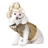 BLONDE HAM-BITION DOG COSUME - I think I'll have to make this for one of my granddogs!