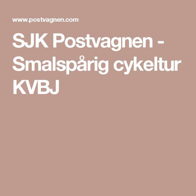 SJK Postvagnen - Smalspårig cykeltur KVBJ