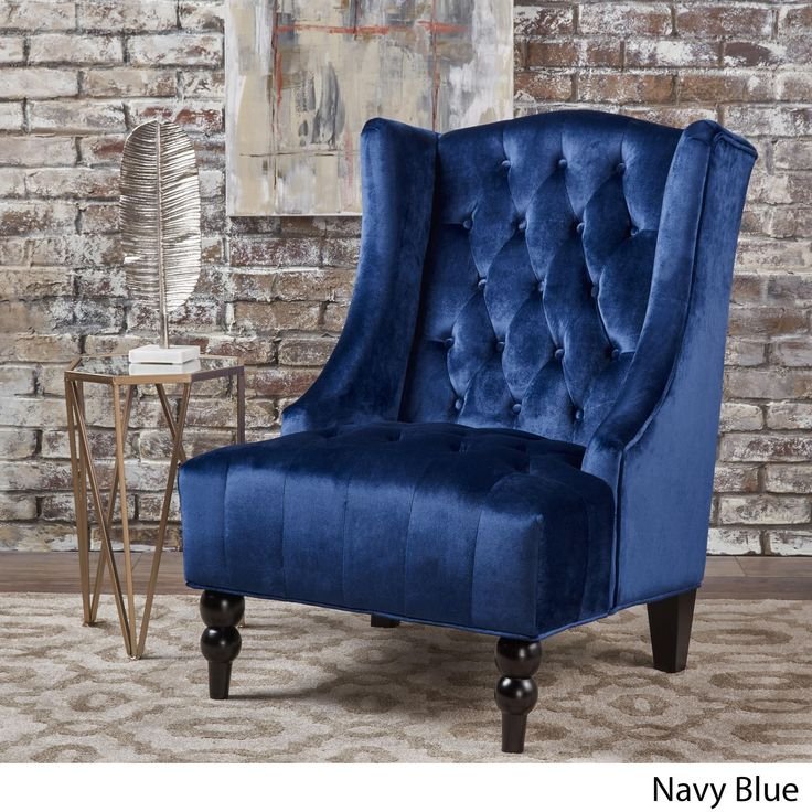 Best Toddman High Back Velvet Club Chair By Christopher Knight 640 x 480