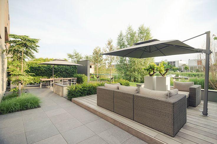 17 beste afbeeldingen over nl gardens op pinterest tuin villa 39 s en waterornamenten - Landschapstuin idee ...