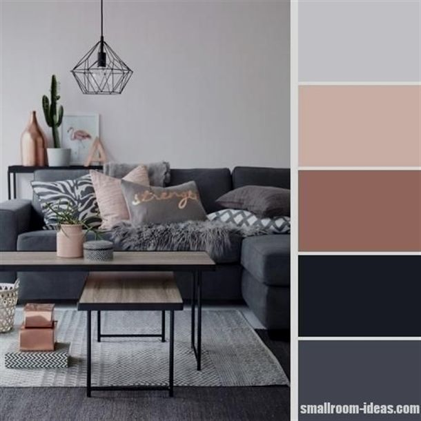 15 Simple Small Living Room Color Scheme Ideas Smalllivingrooms Pink Living Room Living Room Color Schemes Trendy Living Rooms