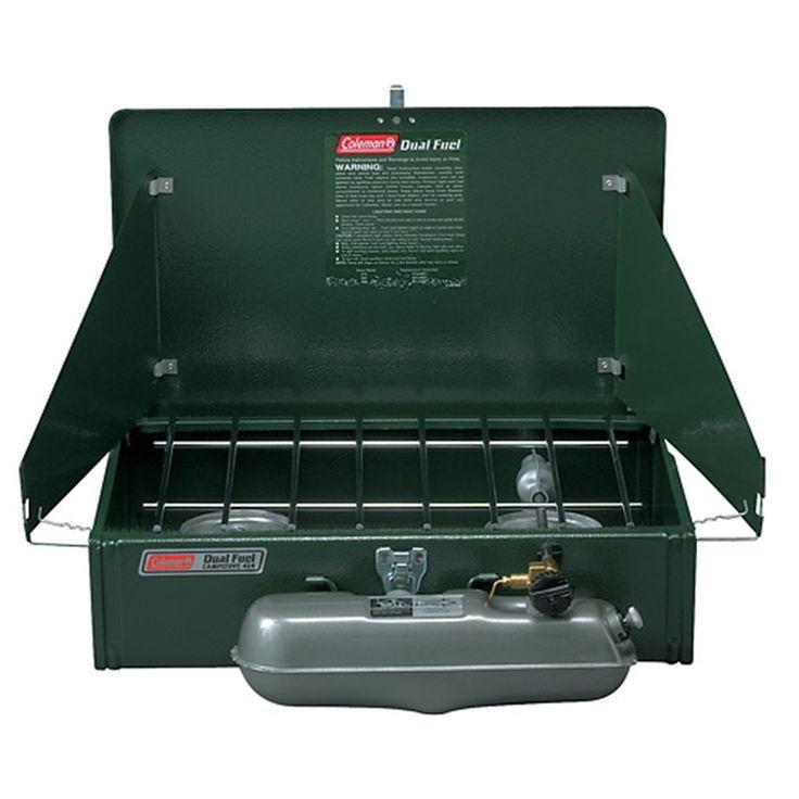 Coleman - Coleman - two burner camp stove - 2 burner camp stoves - Dual Fuel™ 2-Burner Stove