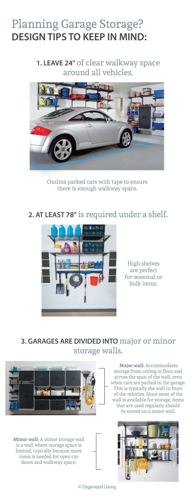 3 design tips for planning your garage storage  OrganizedLiving. 17 Best images about Great Garage Storage   Organized Living on