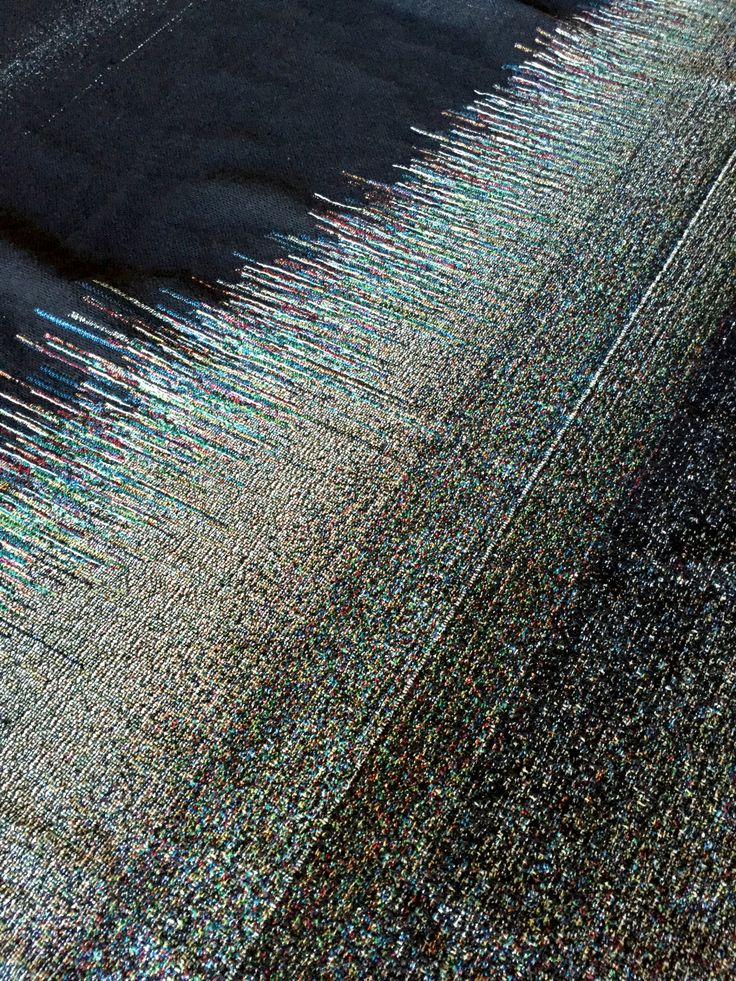 glitchaus: Woven Ambient Light Scan fabric detail #glitchaus