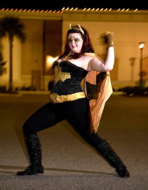 Batgirl Plus Size Superhero Costume.
