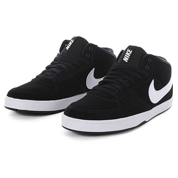 Nike 6.0 Mavrk Milieu 3 - Chaussures Jumeaux En Noir Et Blanc