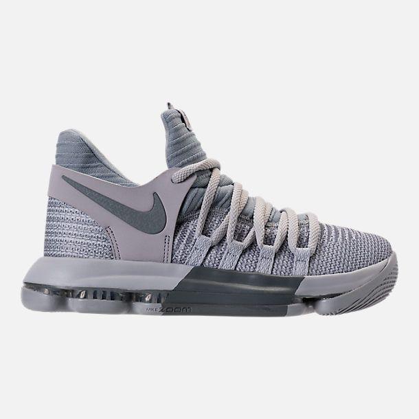 ac731e8493cfc Right view of Boys  Grade School Nike Zoom KDX Basketball Shoes