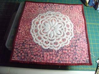 The Quilting Professor: A Fun Little Finish and Happy News!
