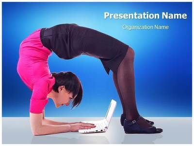 15 best yoga powerpoint presentation template images on pinterest, Presentation templates