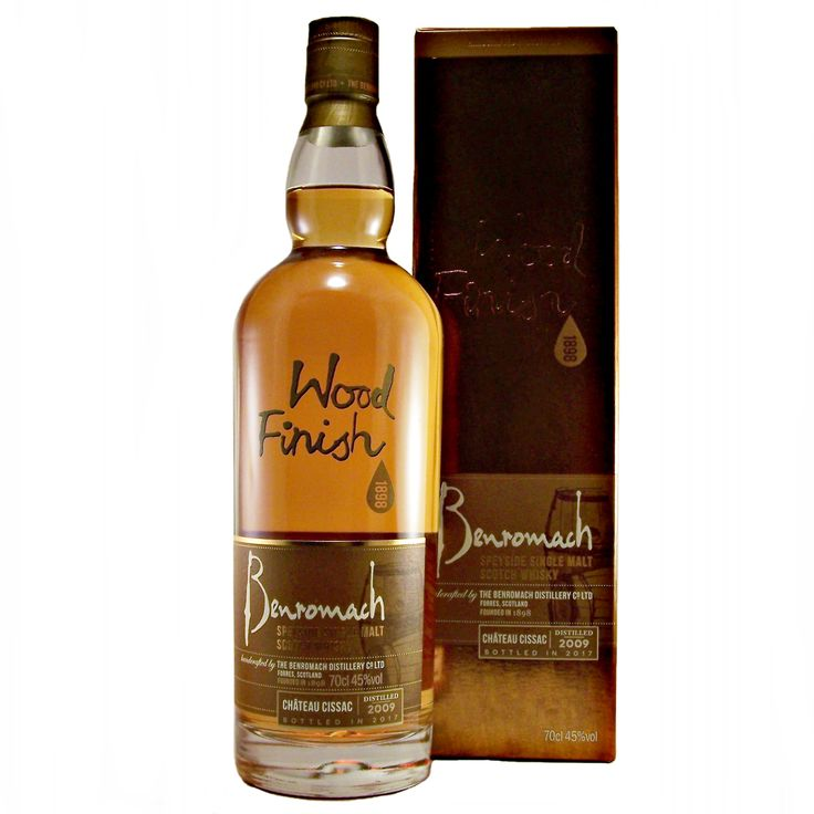 Benromach Chateau Cissac 2009 wood finish single malt whisky available to buy online at specialist whisky shop whiskys.co.uk Stamford Bridge York