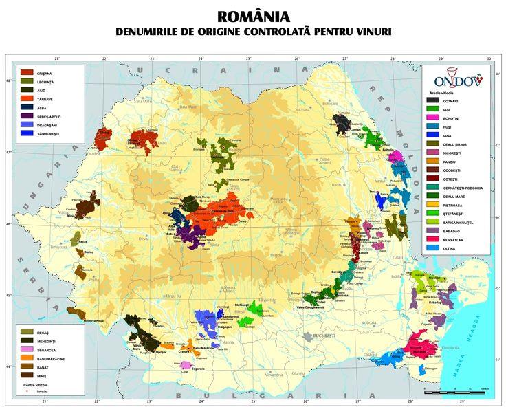 Romanian Wine Regions