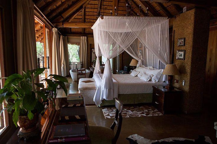 Safari Suite |  Camp Jabulani #RelaisChateaux #Travel #accommodation #africa #southafrica