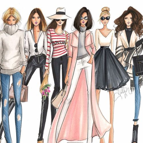 1035 Best Fashion Illustration Sketches Images On Pinterest Fashion Illustrations