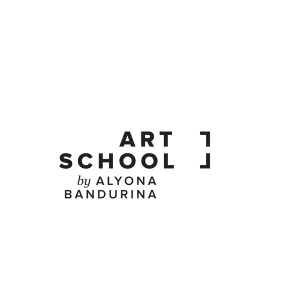Art School by Alyona Bandurina / Identity / Rebranding by Kenan Nasibov, via Behance