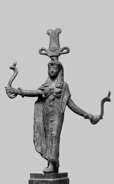 Goddess Isis, Kingship and Magic - circa 1st century BCE, from Greco-Roman period - at the Walters Art Museum