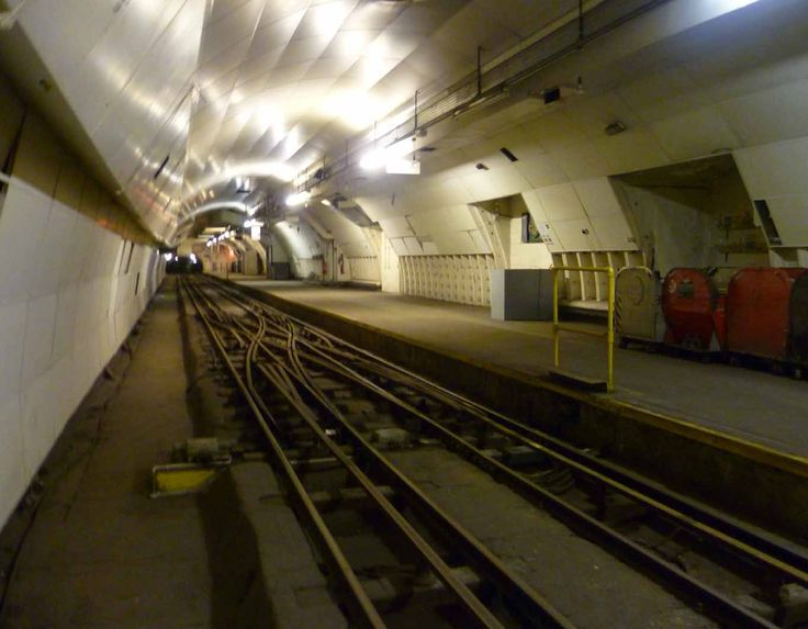 The UK Post Office has its own private railway that runs under London and it now lies abandoned and unused.