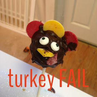 This turkey did NOT match my vision.  At all.