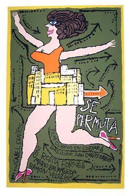 Se permuta (1984) Cuba. Dir.: Juan Carlos Tabío. Comedia - DVD CINE 1586-III