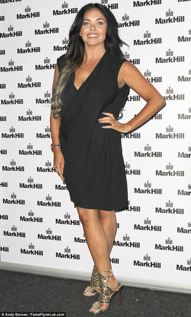 Looking good: Gogglebox favourite Scarlett Moffatt was showing off the results of her fitness and diet plan as she headed out in London on Wednesday