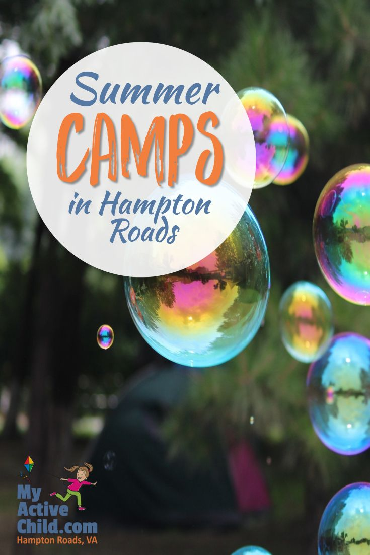 2018 Summer Camps in Hampton Roads Virginia