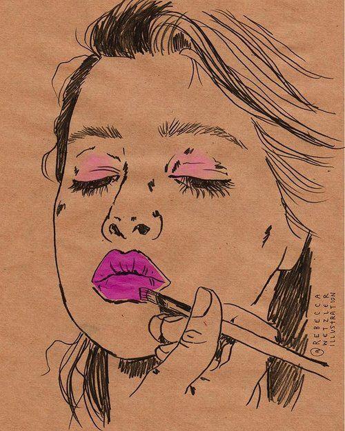 Rebecca Wetzler rebeccawetzler.com rebeccawetzlerillustration #Fashion #Illustration #Fashion Illustration