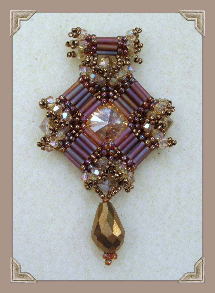 Kelly from Off the Beaded Path, in Forest City, North Carolina shows you how make a beautiful pendant that goes with the past 3 weeks bracelet and earring an...