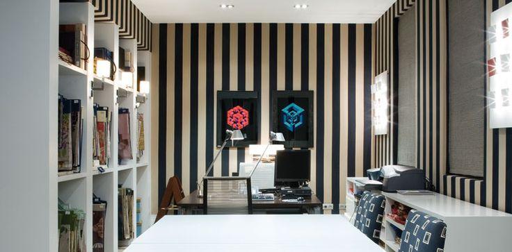 62 best textiles ameublement images on pinterest arredamento fabrics and lounges - Gaston y daniela madrid ...