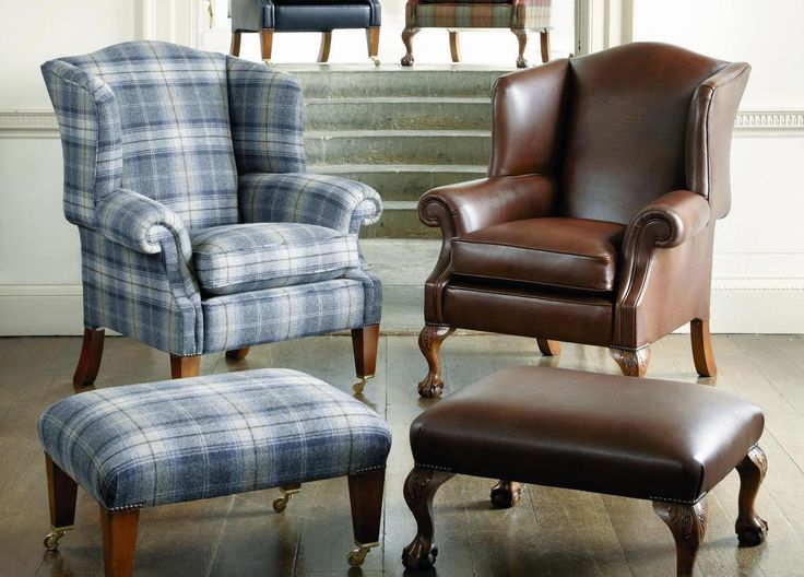 Duresta Sommerset Wing Chair from George Tannahill & Sons - Classic furniture designs.