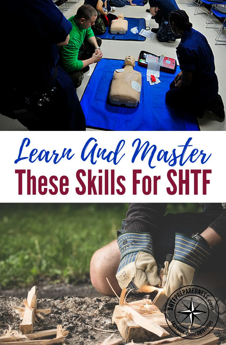 Learn And Master These Skills For SHTF — When it comes to survival, there are so many skills that will be important to have that no one person could know them all.
