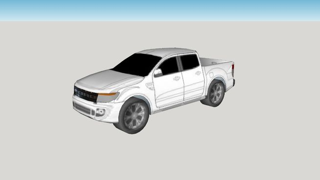 Large preview of 3D Model of 2012 Ford Ranger
