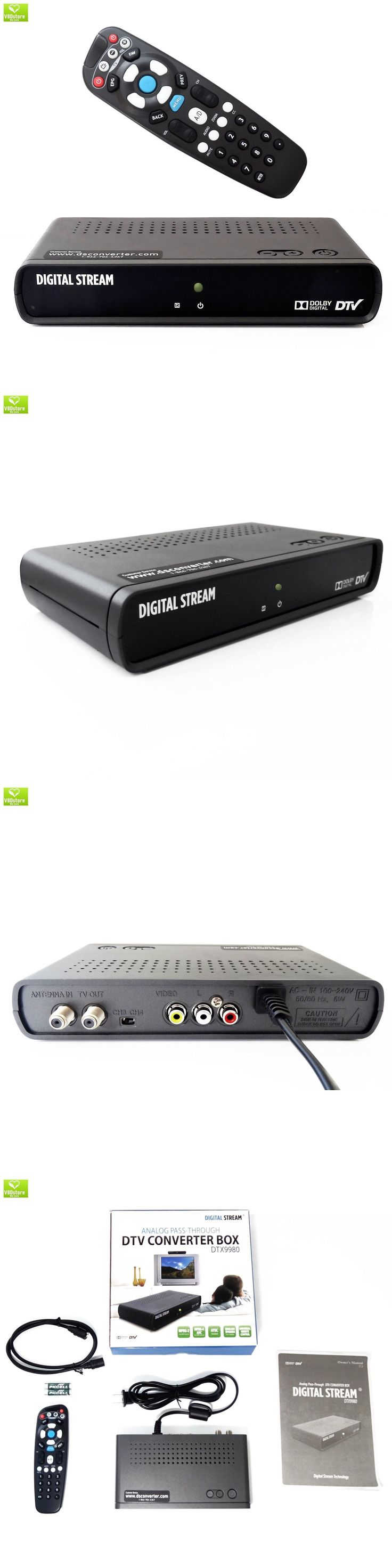 Cable TV Boxes: Digital Stream Analog Pass-Through Dtv Converter Box, Full Atsc, Dolby, Hdmi Con -> BUY IT NOW ONLY: $38.74 on eBay!