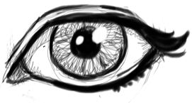Step 09 eye How to Draw Realistic Eyes with Easy Step by Step Drawing Lessons