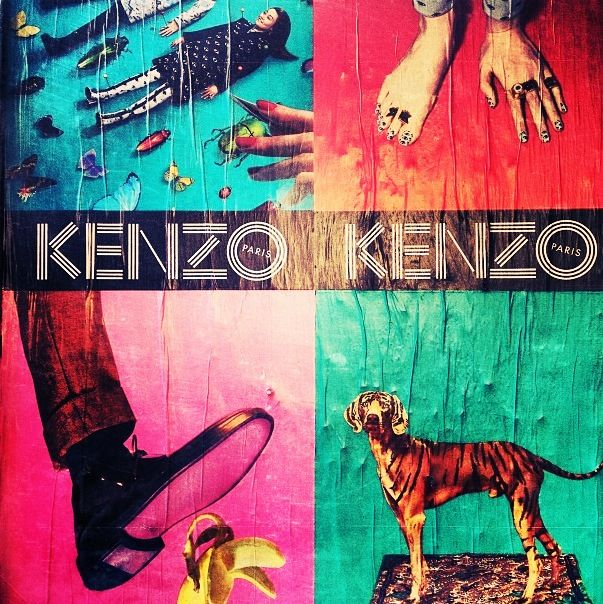 Kenzo ad pic on Racked (Instagram) 2013