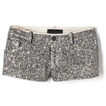 sparkly shorts!