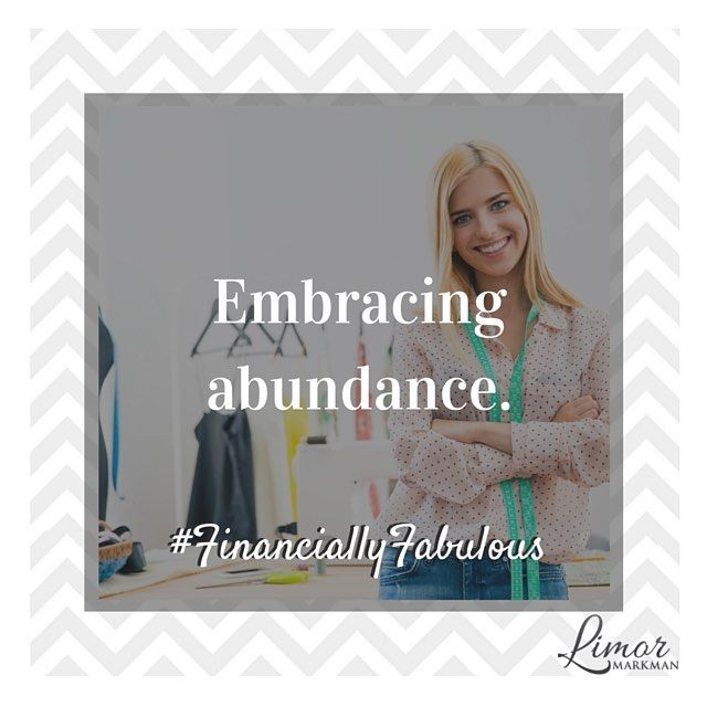 Wealth starts with your mindset. There is more than enough #money for everyone!  Embrace #abundance #dreambig #FinanciallyFabulous!